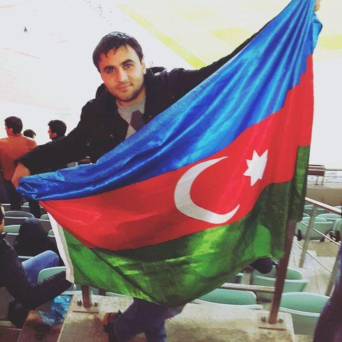Azerbaijan Baku World Flag Azerbaijan Flag