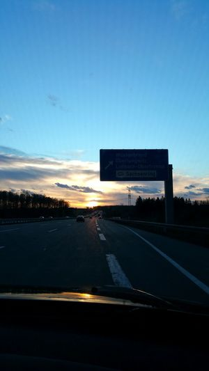 Sunset #sun #clouds #skylovers #sky #nature #beautifulinnature #naturalbeauty Photography Landscape [a:383689] Sunset On The Road Clouds And Sky Sunset_collection Sachsenring Germany EyeEm Deutschland GERMANY🇩🇪DEUTSCHERLAND@