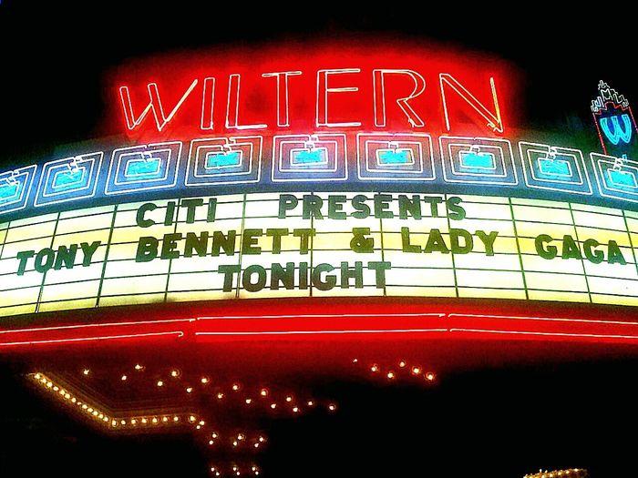 Wiltern Theater Marquee The Wiltern Thewiltern Ladygaga Lady Gaga Tonybennett Tony Bennett Grammyweekend