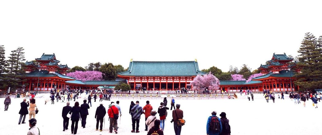 """平安神宮。Heian-jingu Shrine in Kyoto. Architecture EyeEm Best Edits EyeEm Best Shots Introducing Culture Of Japan Which Must Be Left To The Future…… """"未来に残す日本の文化"""""""