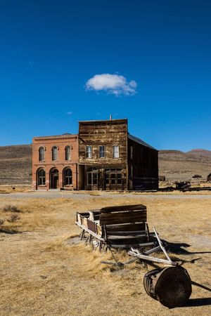 Bodie ghost town On The Road Traveling Old West  Old Buildings Weathered Desert Decrepit California Ghost Town Bodie