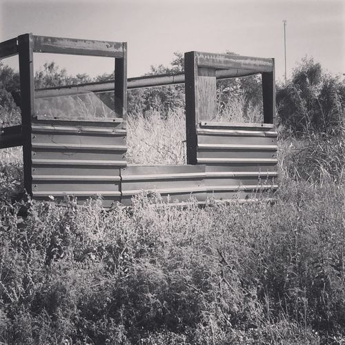 Built Structure Day Fallen Buildings Nature No People Old Buildings Outdoors Ranch Life Sky