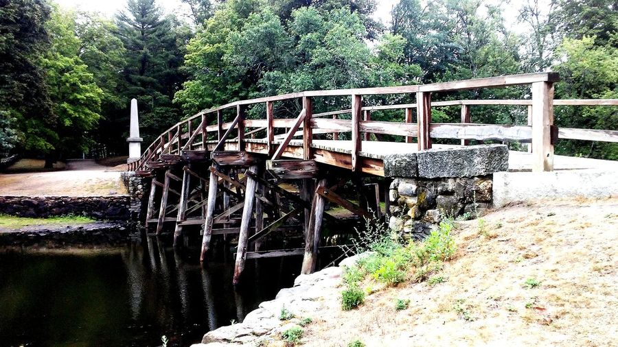 Old North Bridge Concord Concord River