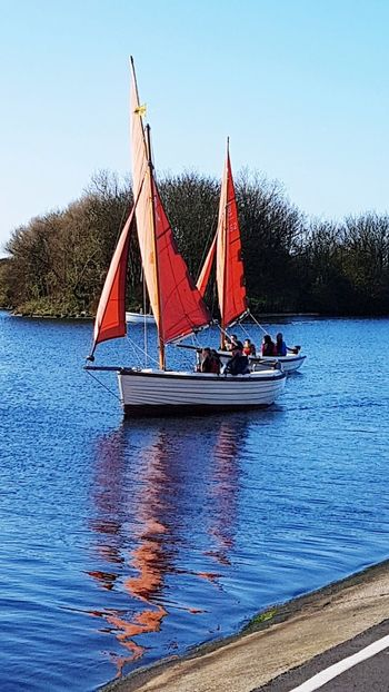 Fairhaven Lake 💕 Water Nautical Vessel Sky