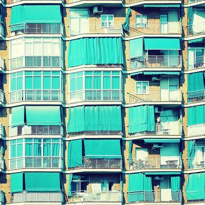 Walking hand by hand | Caminando de la mano Architecture Windows Balconies Straightfacade