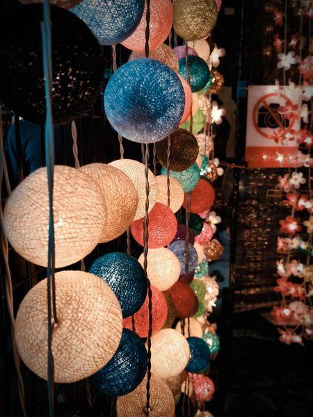 Night lights #penang #bazaar #nightmarket #streetphotography #urbanphotography #hypebeast Roadside #nightphotography #fleamarket #sidewalk #lanterns Hanging Market Choice Variation Retail  For Sale Close-up Display