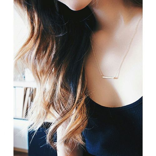 Some minimalism to start the Thursday ? Happythursday  Goldbarnecklace