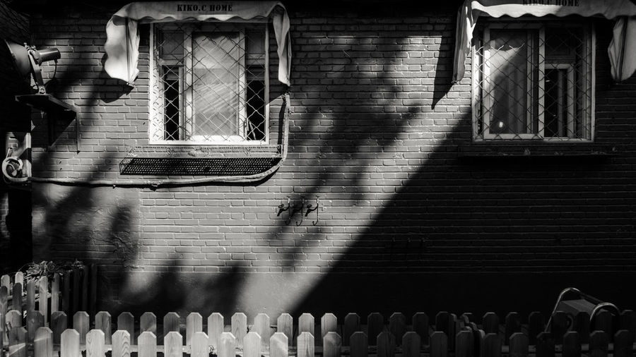 Winter Autumn Morning Light And Shadow Window Beijing 798 EyeEm Selects Shadow Day No People