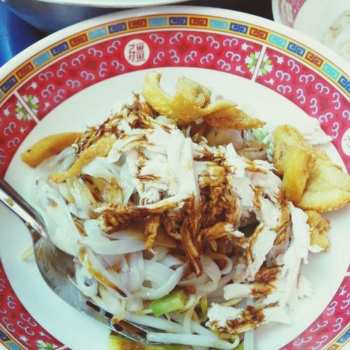 holiday with homemade noodle