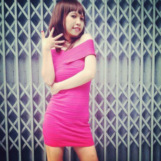 Model Beauty Girl Pink