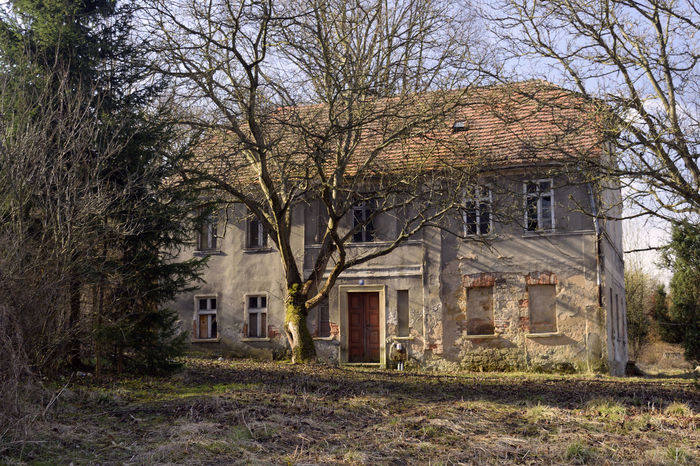 Old hause Architecture Building Exterior Built Structure Day No People Old Hause Outdoors Poland Residential Building Tree Złotoryja