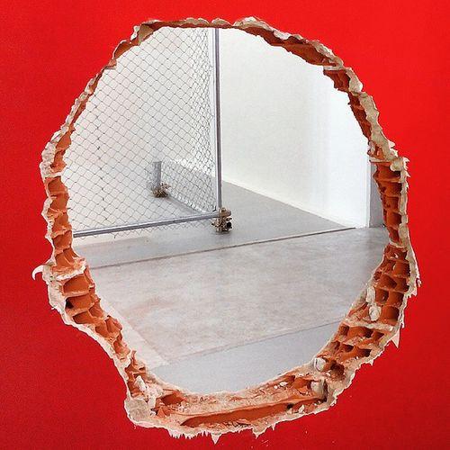 Venice Venicebiennale Venicebiennale2015 Art Contemporary Art Red Hole Brazilian Pavilion alltheworldsfutures