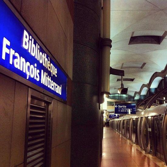 BFM Metro Ligne14 Ratp paris quai subway