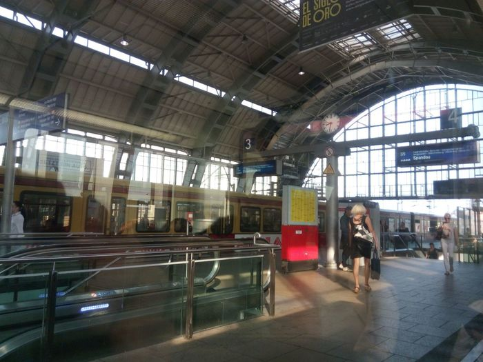 S-Bahhof Alexander Platz Architecture Day Indoors