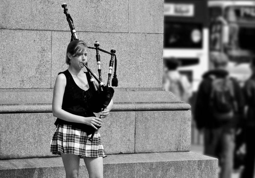 Bagpiper Bagpipes Edinburgh Lifestyles Live Music Scottish Sreet Music Street Musicians Streetphoto_bw Streetphotography Urban Urban Lifestyle Urbanphotography