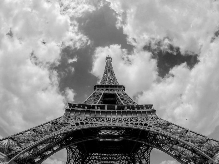Eifel Tower Paris Fine Art Photography Black And White