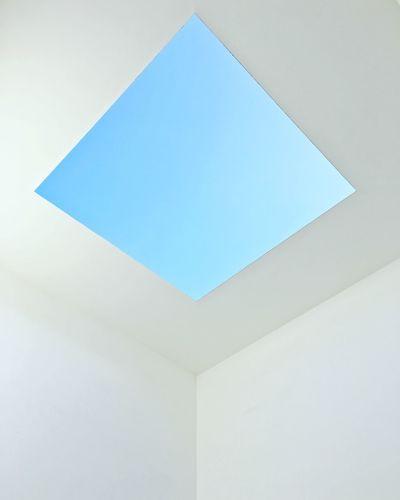 Copy Space Blue
