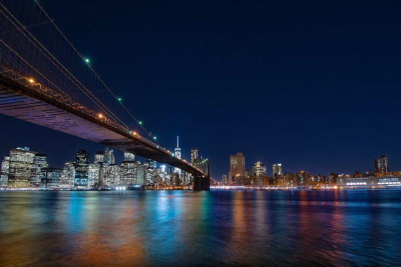 Bridge Brıdge City Manhattan New York Longexposure Manhattan Skyline Slow Shutter Landscape_Collection Brooklyn Bridge / New York NYC Long Exposure Cityscapes Longexposurephotography Brooklyn NYC Photography