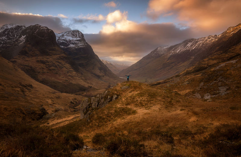 Mountain Landscape Sunset Travel Destinations Mountain Peak The Great Outdoors - 2017 EyeEm Awards Sunset_captures Landscape_Collection Sunsetporn Glencoe EyeEm Masterclass EyeEm Best Edits