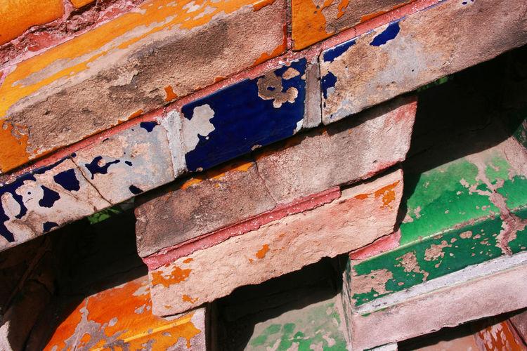 Full frame shot of rusty wall