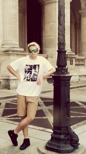 Thats My Boy  Lovehim My Love❤ Polishboy  Paris Louvre Streetphotography Whatsup! Chilling