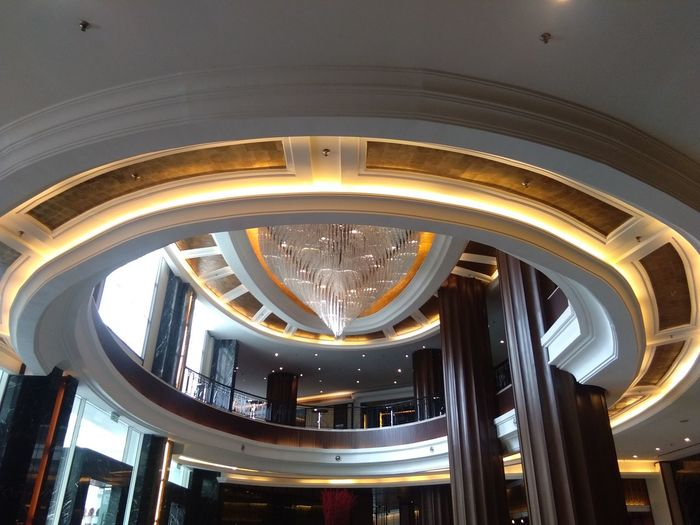 Majestic Hotel KL Colour Your Horizn Elegant Lighting High Angle View Autograph Collection Lobby Ceiling Architecture Indoors