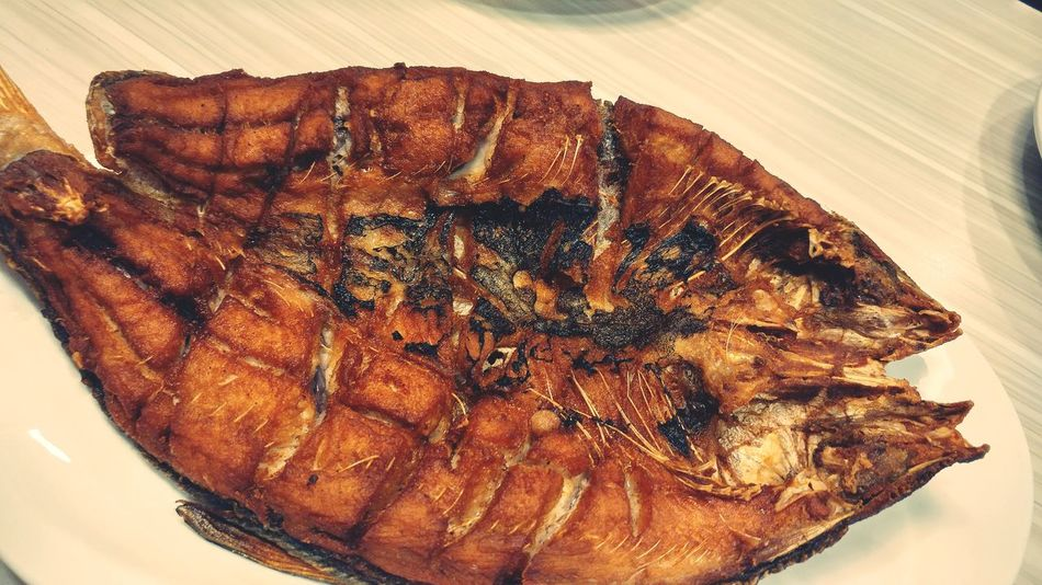 Grilled na Bangus Dinner Time Ready-to-eat Food Kain