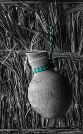 Traditional Culture Jar Colorsplash Waterjar Green Color Blackandwhite Arbic Different Cool