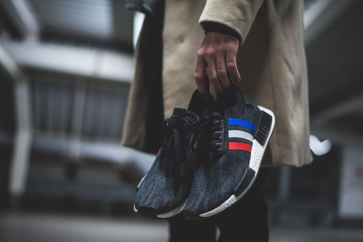 Lifestyles Holding Sneakers Ultraboost