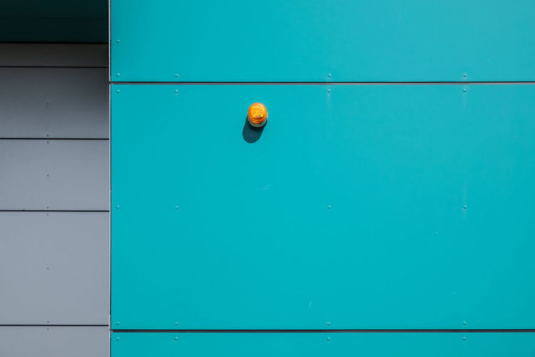 Blue No People Indoors  Wall - Building Feature Day Green Color Copy Space Yellow Ball Door Architecture Sport Close-up Representation Built Structure Full Frame Pool White Color Orange Color Swimming Pool Orange Turquoise Colored