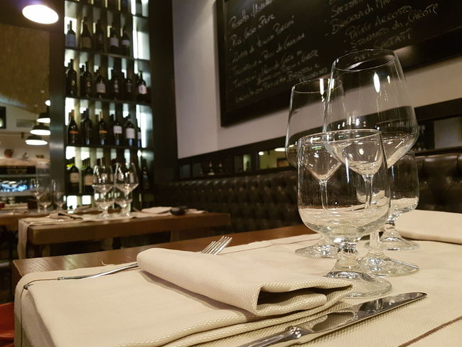 Ristorante Tavolo Bicchieri Italy🇮🇹