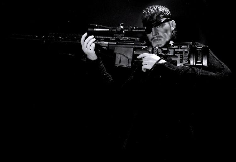 Metal Gear Solid Snake Blackandwhitephotography Hot Toys EyeEm Best Shots - Black + White Black And White Collection  Blackandwhite Photography Black And White Photography Toy EyeEm Best Shots Toyphotography B/W Photography Black And White Black & White Monochrome Black&white Check This Out Blackandwhite Toy Photography Toys B/w Sniper Sniper Rifle