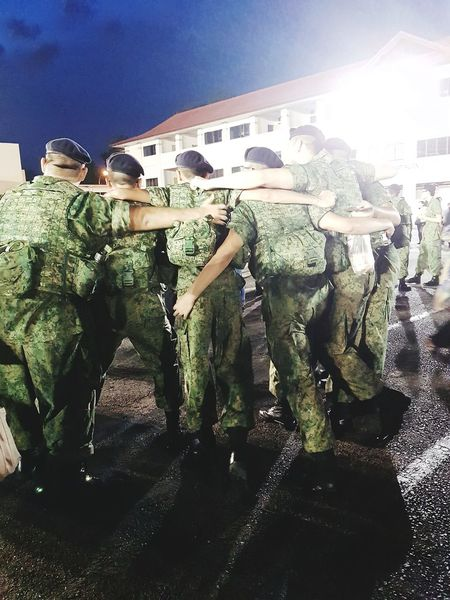 Friendships forged in adversity Airforce Graduation Passing Out Parade Graduation Parade Basic Military Training Sembawang Camp Streetphotography Sg_streetphotography 7 Sept 2017 Soldiers Singapore