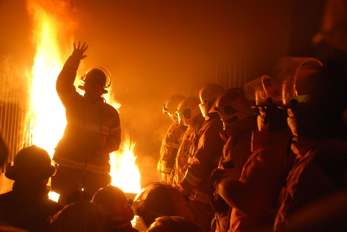 Con Fuerza! CURSOS H. C. B. EyeEm Selects Adult Arts Culture And Entertainment Burning Crowd Event Excitement Fire Fire - Natural Phenomenon Flame Group Of People Heat - Temperature Human Arm Large Group Of People Men Music Night Orange Color Performance Real People Young Adult Young Men