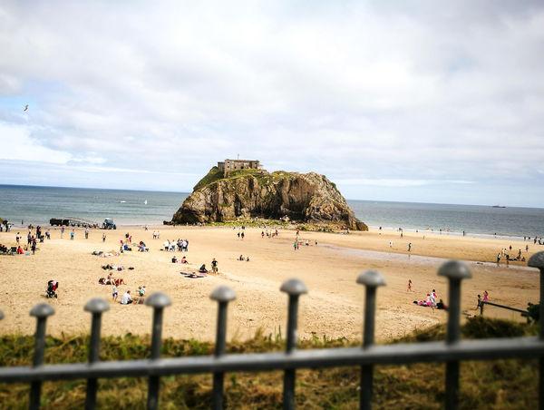 Tenby Tenby, Pembrokshire Holiday Beach Sea Sea And Sky Seaside Summer Wales West Wales Coast First Eyeem Photo