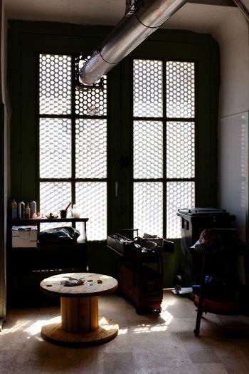 Repair Shop Chair Day Indoors  No People Repair Window Work Tools