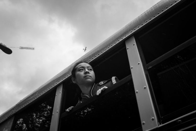 Streetphotography Light And Shadow Black And White Blackandwhite Fujifilm Fujifilm_xseries Fujix100f Photo444 Documentary Photography Lunar New Year Year Of The Pig One Person Real People Portrait Lifestyles Leisure Activity Men Low Angle View