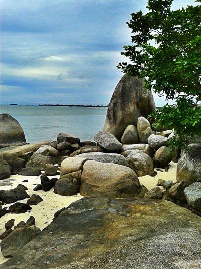 Landscape INDONESIA Belinyu, Bangka Belitung Bay Of Putat