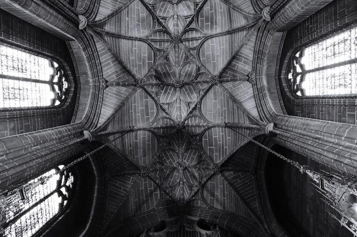 Religious Architecture Religion Architecture Monochrome Blackandwhite Architecture Ceiling Indoors  Backgrounds Full Frame Built Structure Symmetry Travel Destinations No People Low Angle View Architectural Design Day