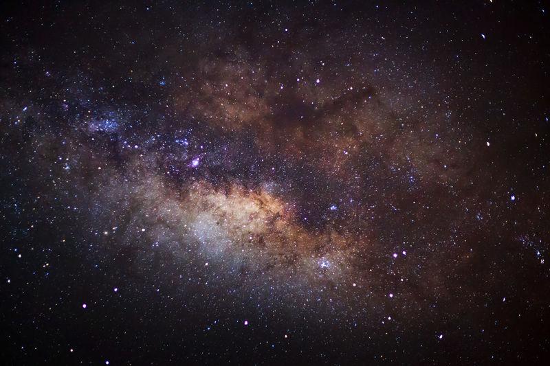 Stars In Sky At Night