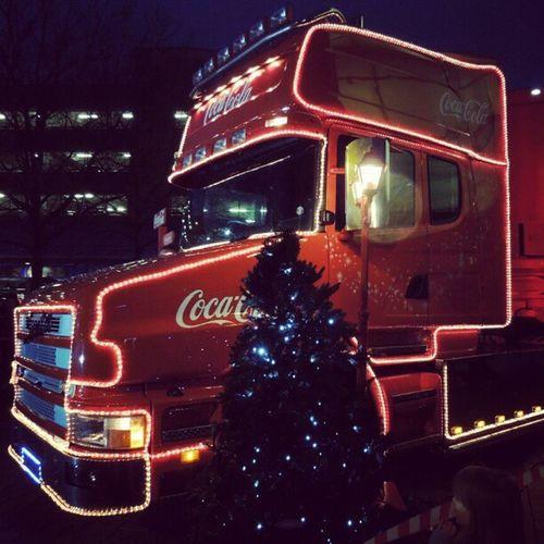 Coca cola lorry Cocacola HolidaysAreComing