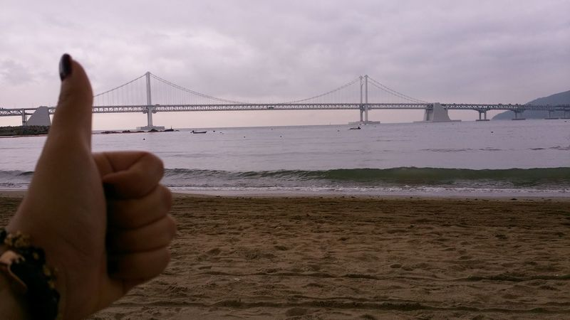 Gwangan Bridge 부산 Busan Good 흐린날씨에도예쁜 광안대교