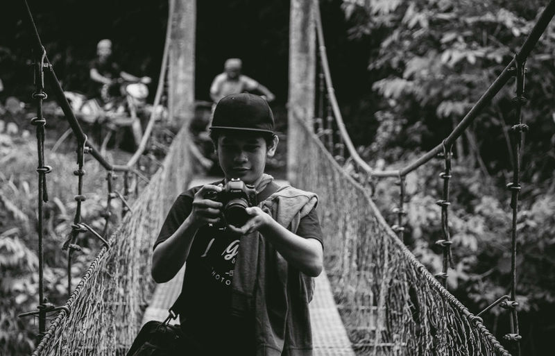 Self-Portrait. Daily Lifestyle Day Hangging Bridge Jurnalism Outdoors Outreachprogram Rural Life Rural Place Young Adult