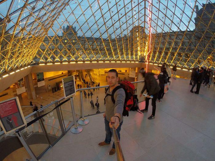 Le Louvre Paris Paris Gopro