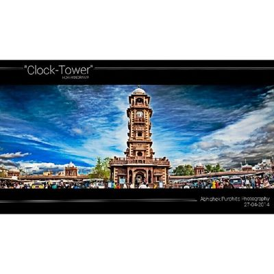 """My New click """"clock tower"""" hdr panorama"""