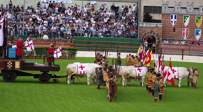 Historical Parade Palio Palio Di Legnano