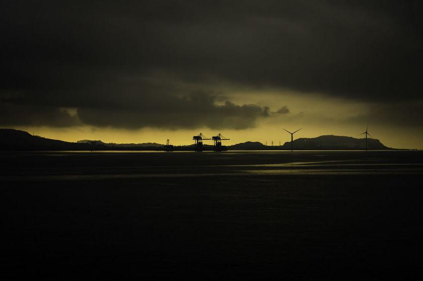 Cloud - Sky Coast Landscape Nature No People Outdoors Scotland Sea Storm Storm Cloud