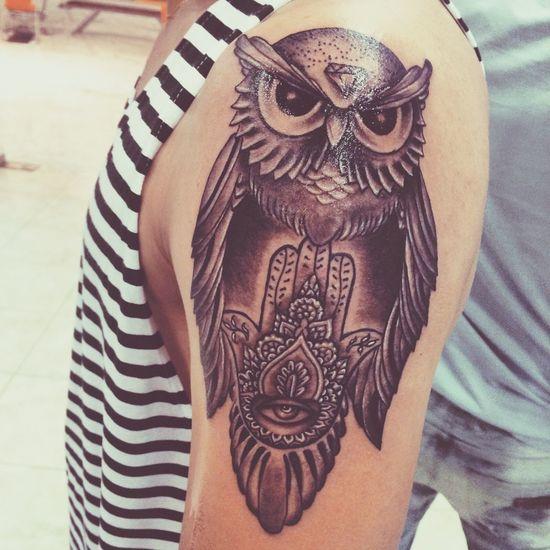 Tattoo Buho Hamsa Hand Tattoos First Eyeem Photo