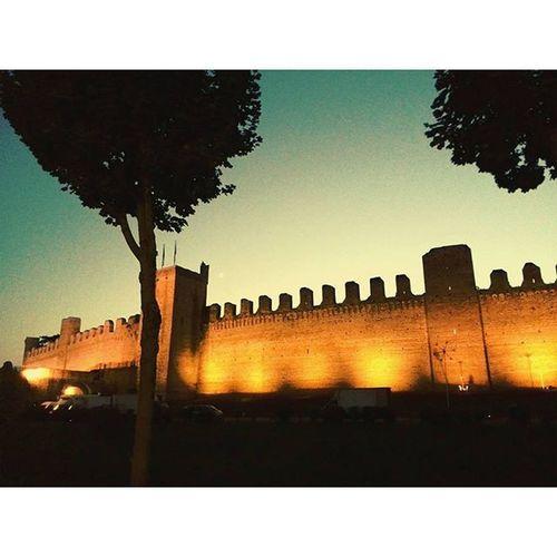 """Le Mura"" Evening Mura Sunset Cittadella Colorsky Bricks Maven Vscocam Eye4photography  EyeEm Best Shots"