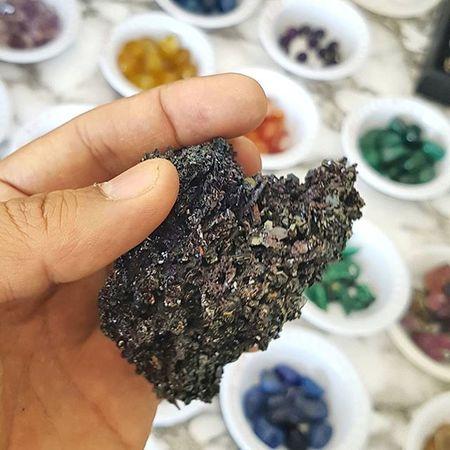 Samsung Galaxy S7 Galaxys7 Macro Closeup Gemstone  Stone Necklace Color Beautiful Basrah Iraq Colour